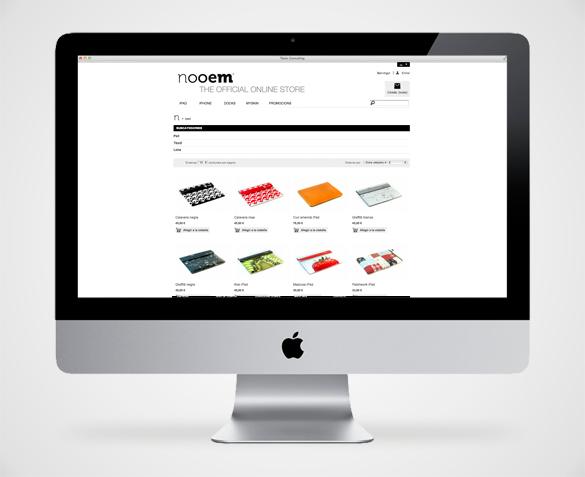 Pàgina web venta on-line Nooem, Pàgina web autogestionable, pagina web terrassa, disseny web terrassa, programació web terrassa, disseny terrassa, botiga online terrassa