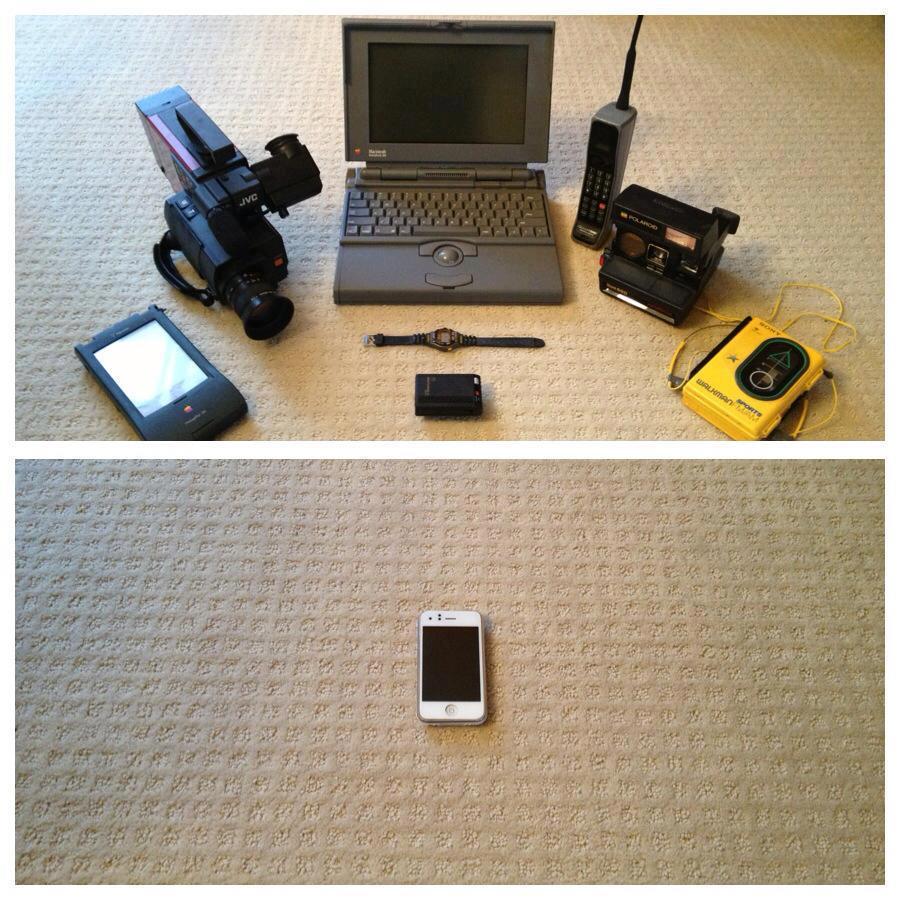 evolució del mòbil