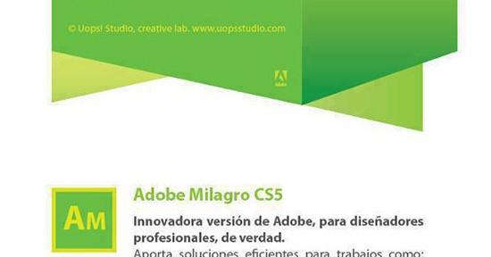 Adobe Milagros: l'últim programa Adobe per dissenyadors!