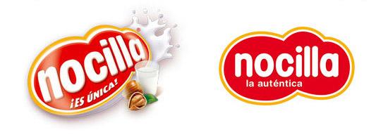 Nou logotip Nocilla