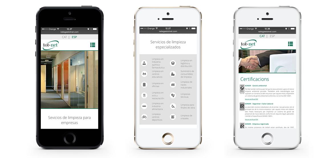 Responsive Design Smartphone Tot Net